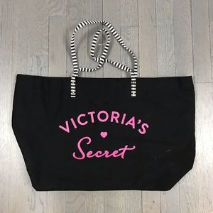 NWOT Victoria's Secret Shoulder Shopper Tote Bag